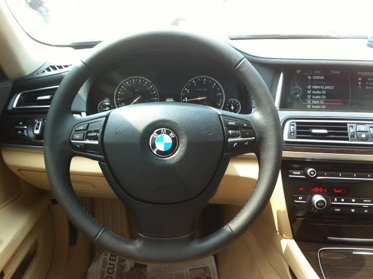 Bán ô tô BMW 7 Series 730LI đời 2014, màu đen, xe nhập