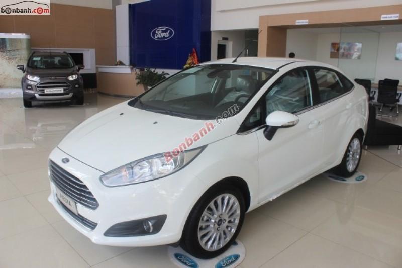 Hà Thành Ford bán Ford Fiesta năm 2014, màu trắng