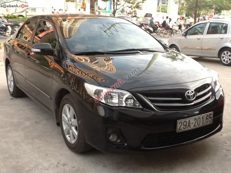 Việt Tuấn Auto bán xe Toyota Corolla altis đời 2011, màu đen, chính chủ, giá 715 triệu