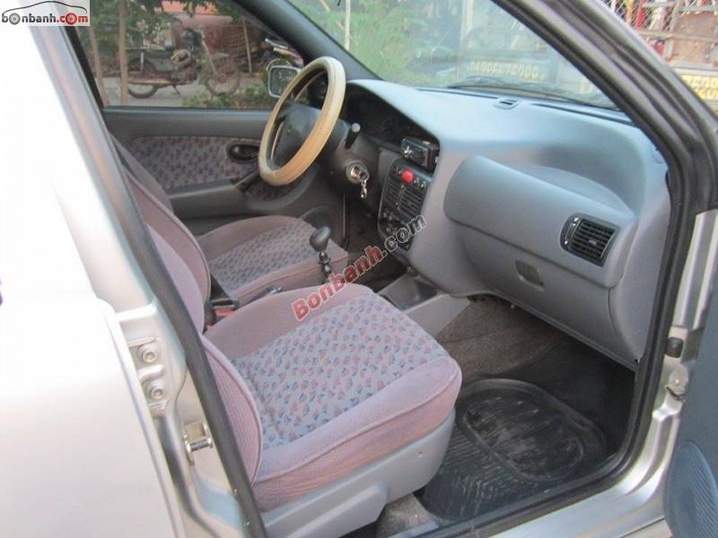 Cần bán gấp Fiat Siena 1.6 HLX năm 2003, màu bạc, giá 165tr