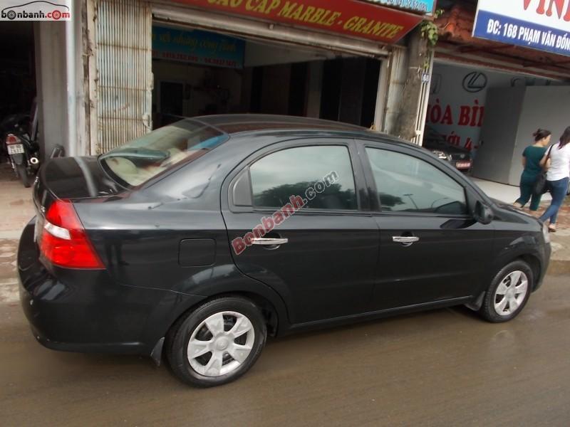 Cần bán Daewoo Gentra đời 2009, màu bạc, xe một chủ đi từ đầu, còn nguyên bản