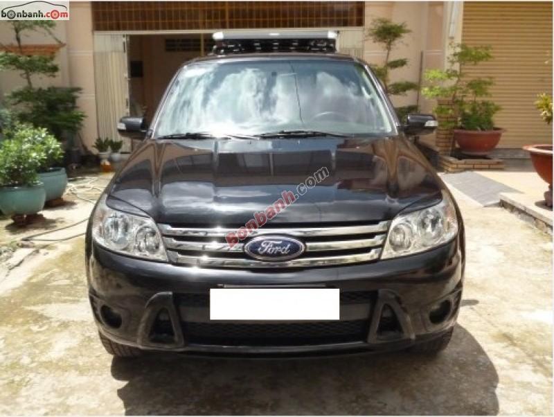 Ô tô Chính Lành bán xe Ford Escape đời 2008, màu đen, ít sử dụng