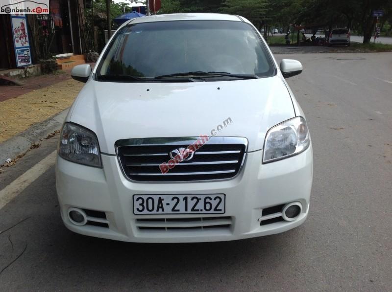 Cần bán lại xe Daewoo Gentra đời 2010, màu trắng, chính chủ