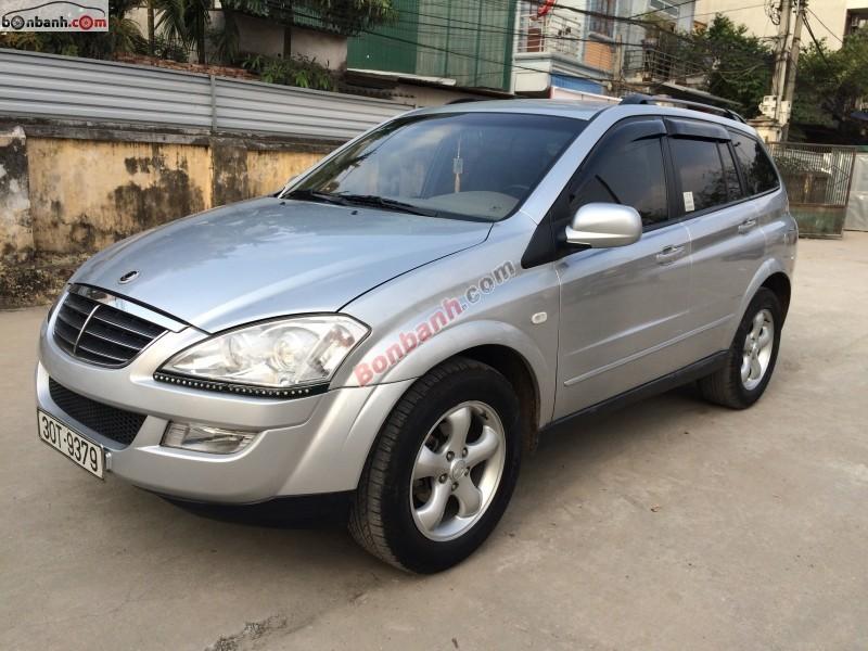 Bán xe Ssangyong Kyron 2008 số tự động, giá chỉ 462 triệu