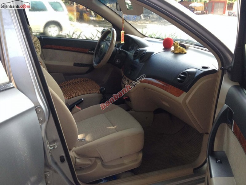 Xe Daewoo Gentra đời 2010, màu bạc, chính chủ, 320tr cần bán