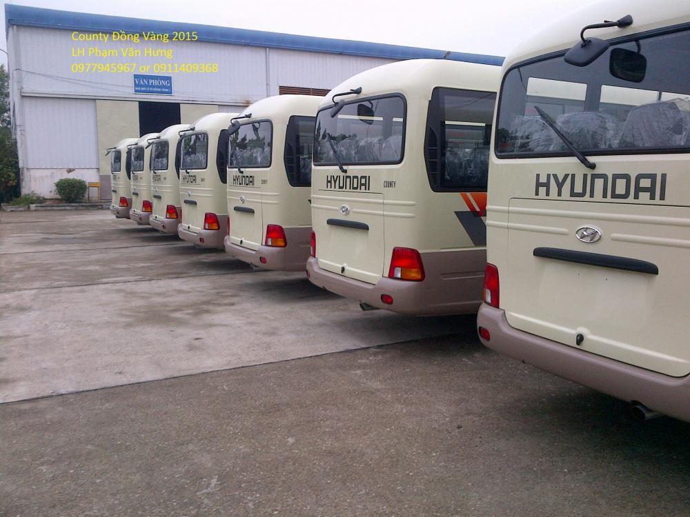 Xe Hyundai County  2015