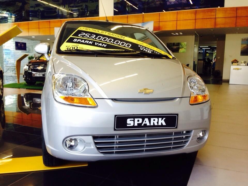 Xe Chevrolet Spark  2015