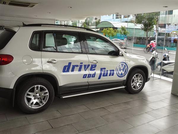 Xe Volkswagen Tiguan  2014