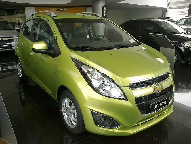 Xe Chevrolet Spark  2014