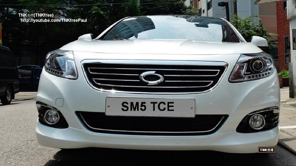 Bán xe Samsung SM5 XE năm 2012, màu trắng, nhập khẩu, số tự động
