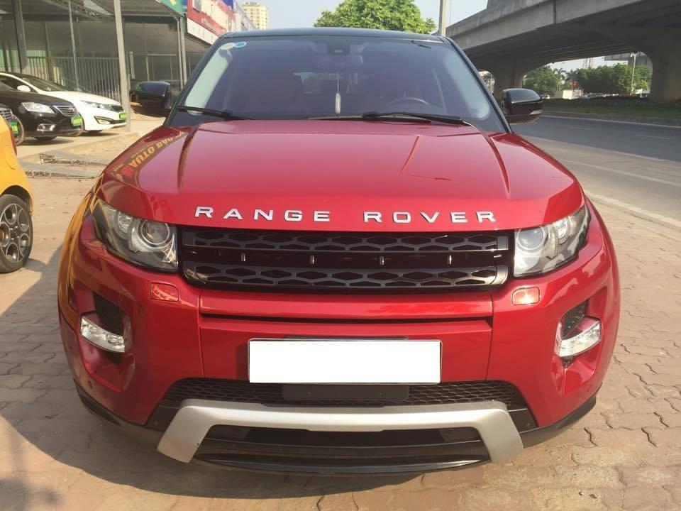 Bán LandRover Range  Dynamic năm 2012, màu đỏ, nhập khẩu chính hãng chính chủ
