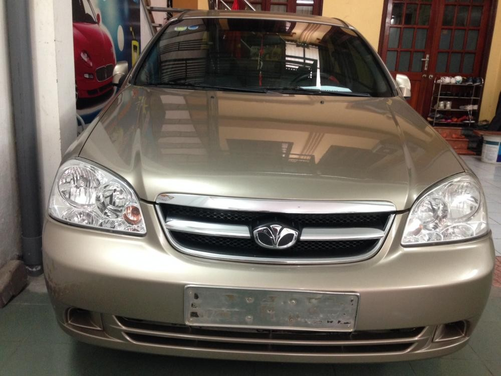 Cần bán lại xe Daewoo Lacetti 1.6 EX đời 2011,  số sàn, tư nhân chính chủ sử dụng