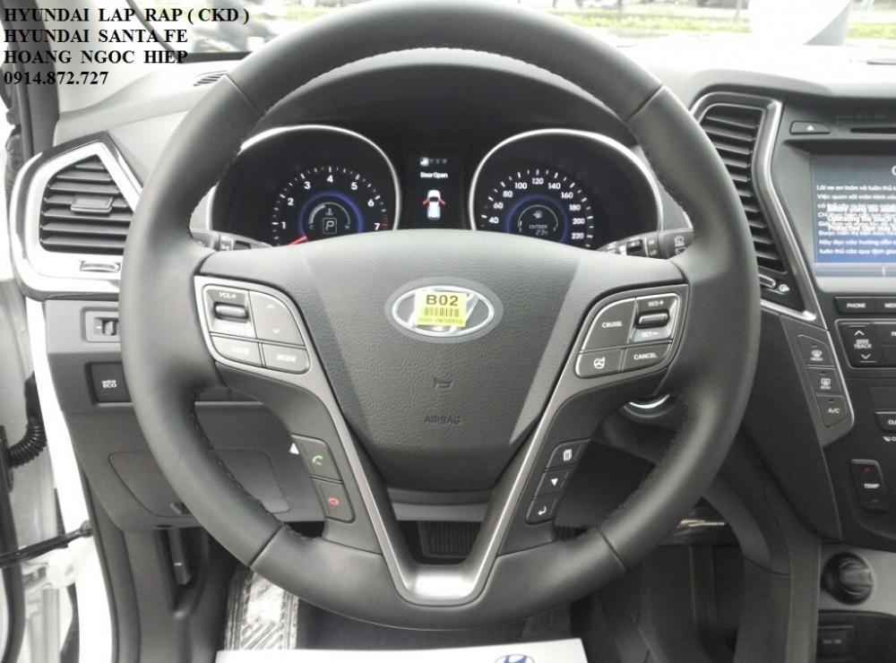 Xe Hyundai Santa Fe  2015