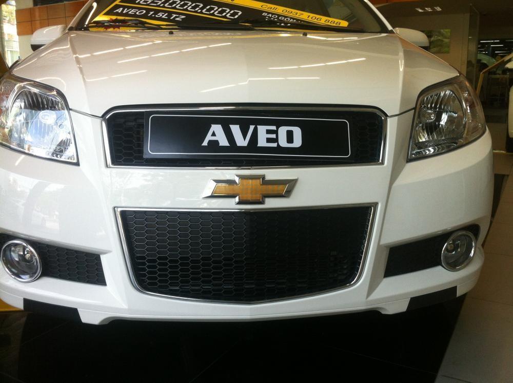 Xe Chevrolet Aveo LTZ 2015