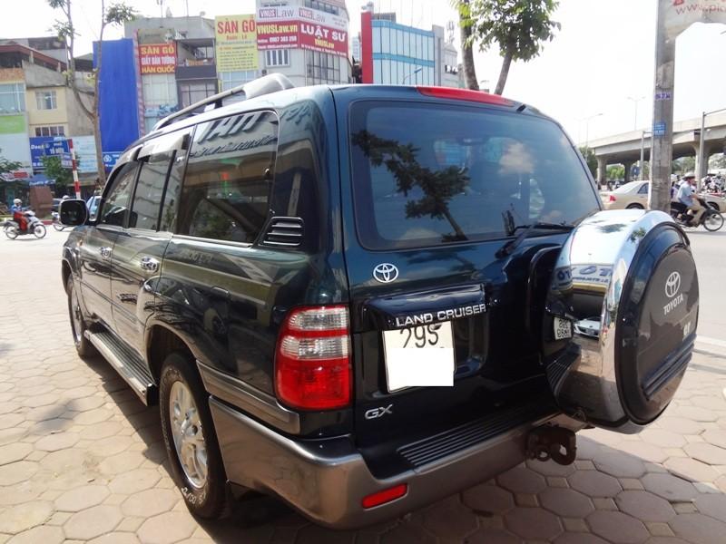 Xe Toyota Land Cruiser GX 2003