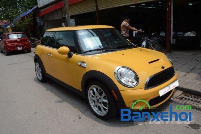 Chợ ô tô Hà Nội cần bán lại xe Mini Cooper S đời 2008, màu vàng, nhập khẩu chính hãng