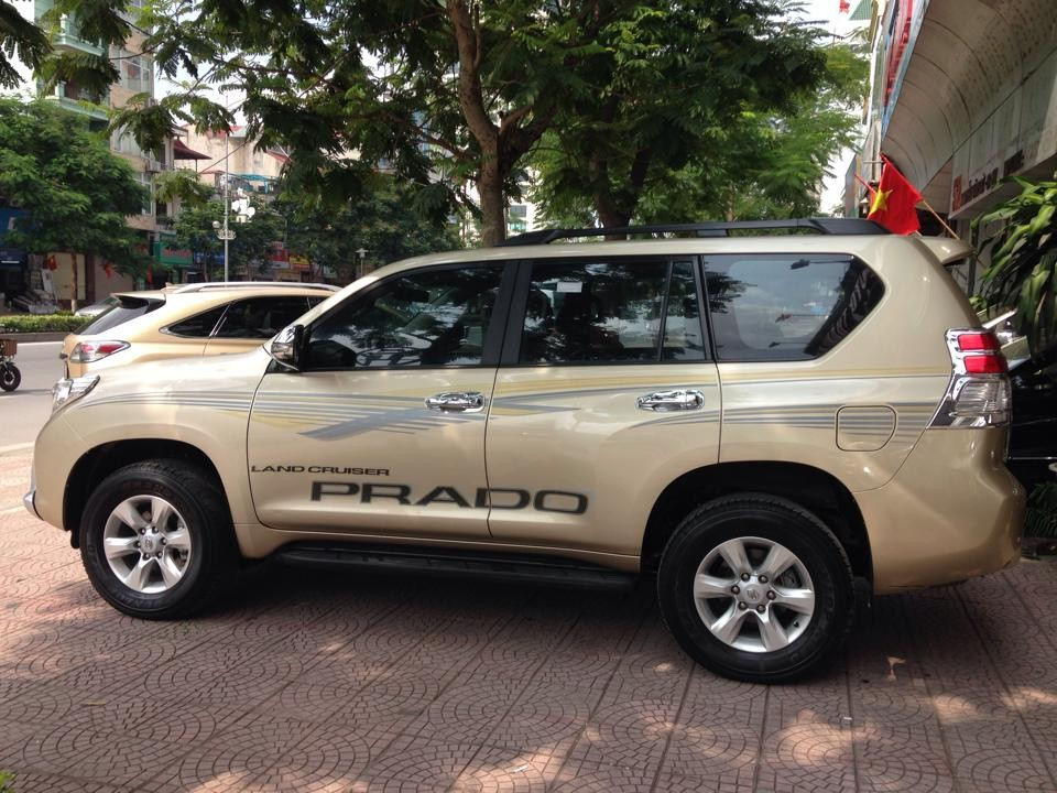 Xe Toyota Prado 2.7 TXL 2012