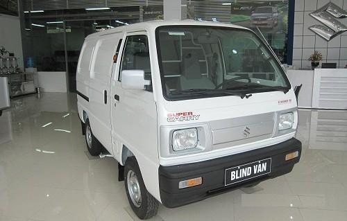 Xe Suzuki Super Carry Van Blind Van 2015