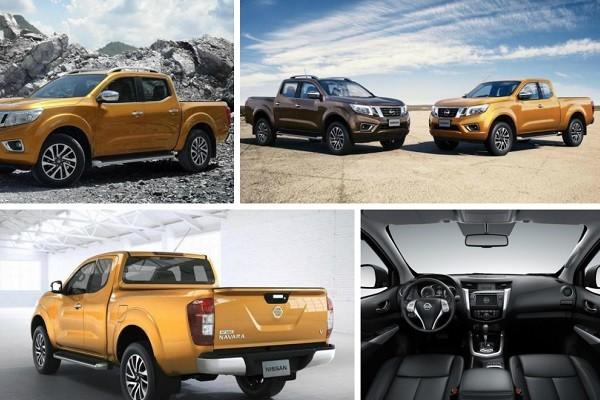 Cần bán Nissan Navara E đời 2015, màu vàng, nhập khẩu