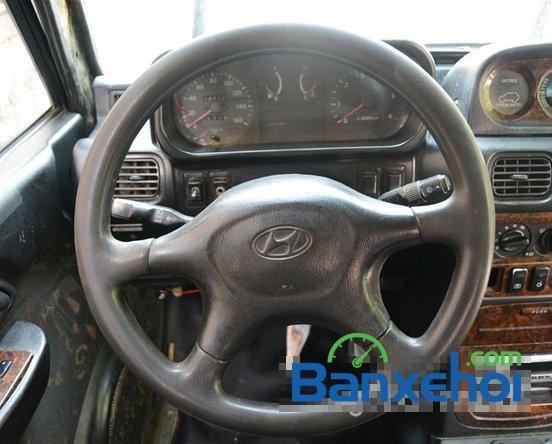 Xe Hyundai Galloper năm 2001, màu đen giá cạnh tranh