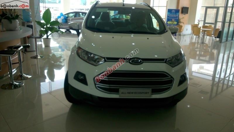 Cần bán Ford EcoSport 1.5 Titanium 2015, màu trắng, giá 681Tr