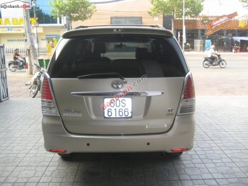 Salon ô tô Sang Phát Đạt cần bán xe Toyota Innova G SR đời 2010