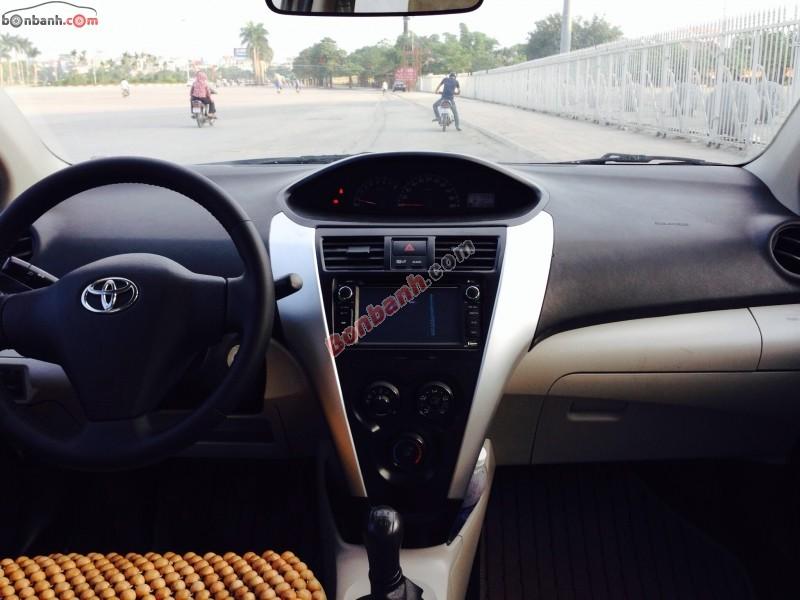 Xe Toyota Vios E 2010, màu bạc, chính chủ