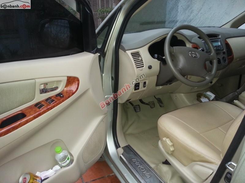 Xe Toyota Innova G 2007