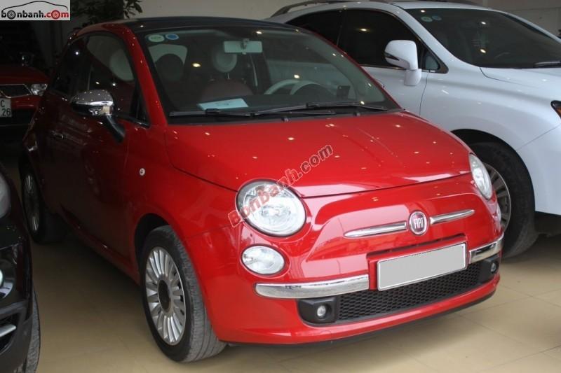 Xe Fiat 500 C 2009
