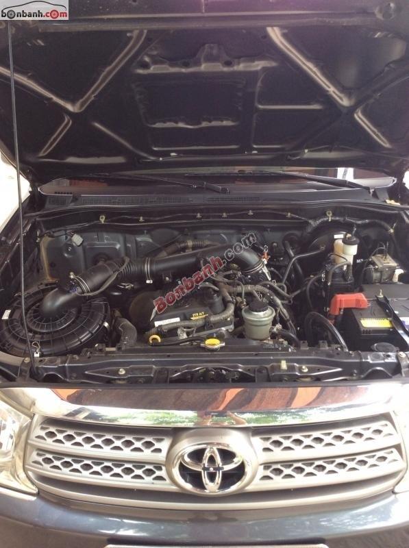 Bán ô tô Toyota Fortuner V 4x4 AT đời 2009, màu xám, còn mới, giá chỉ 685 triệu