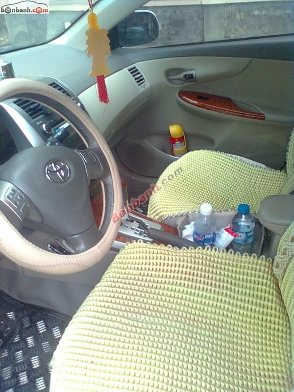 Xe Toyota Corolla Altis 2.0 V 2009, màu bạc, chính chủ