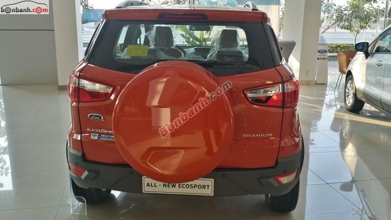 Cần bán Ford EcoSport Titanium 1.5L AT đời 2015, màu đỏ, giá chỉ 651 triệu