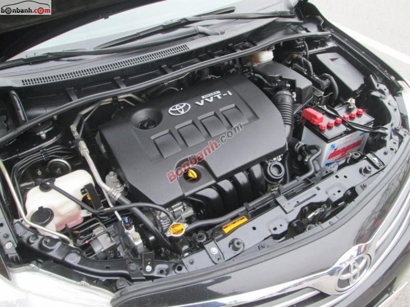 Sàn ô tô Hòa Bình cần bán gấp Toyota Corolla Altis 1.8G 2011, màu đen, chính chủ