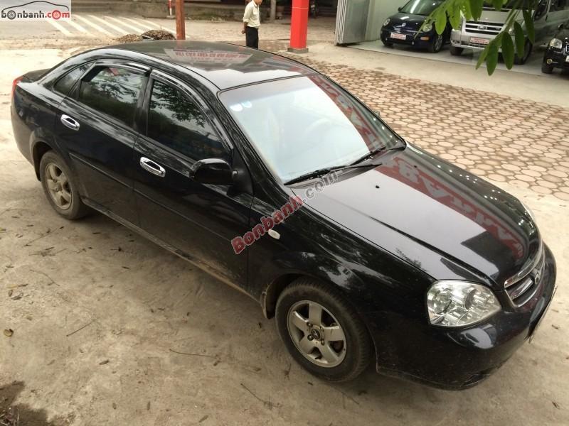 Cần bán gấp Daewoo Lacetti EX đời 2010, màu đen, chính chủ