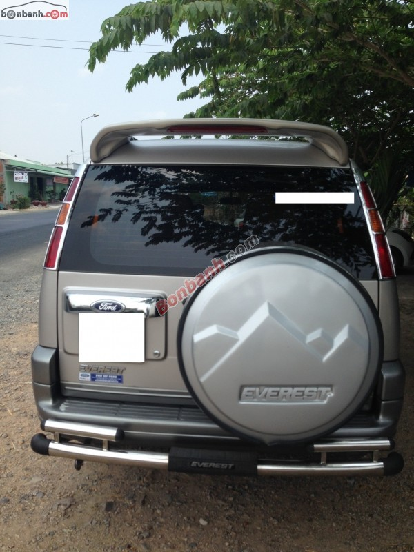 Xe Ford Everest 2.5MT 2005