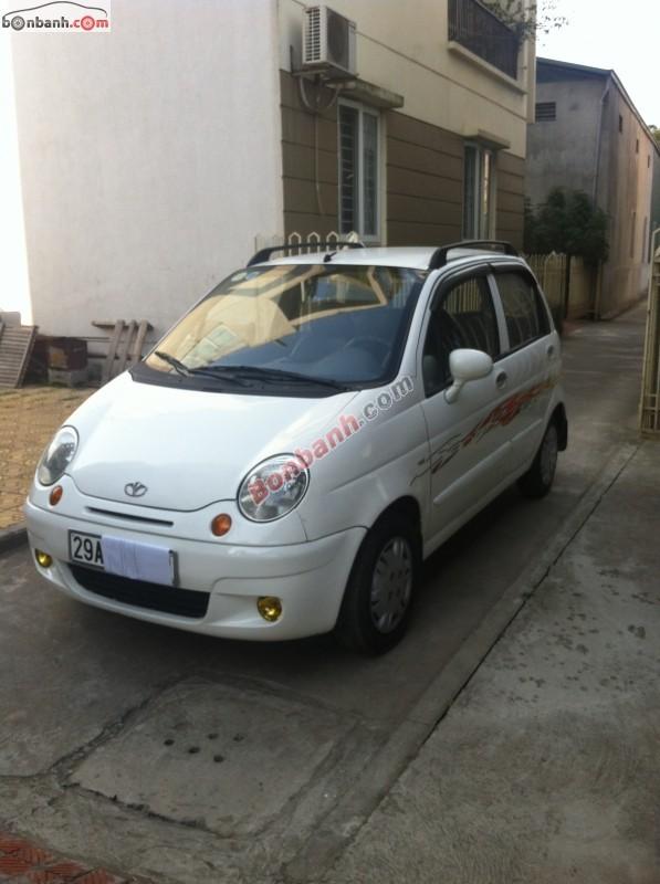 Cần bán gấp Daewoo Matiz SE đời 2007, màu trắng, chính chủ