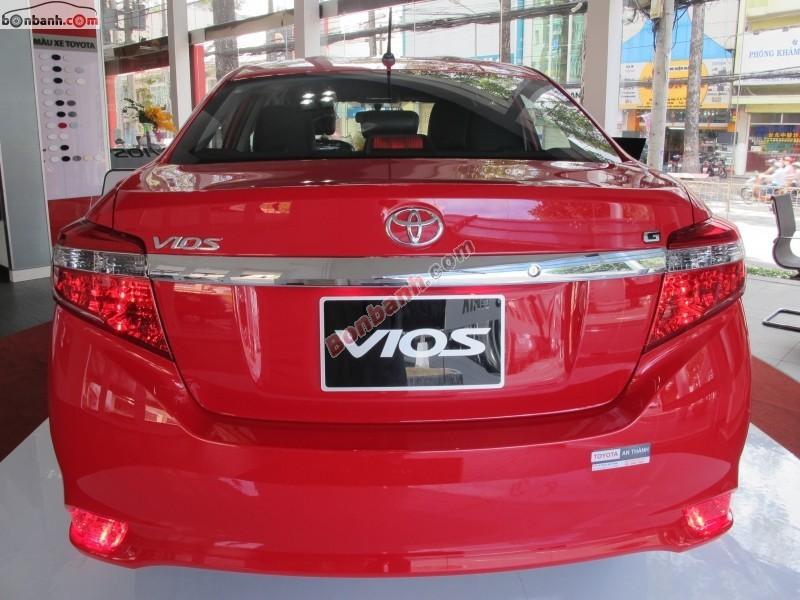 Xe Toyota Vios G 2015