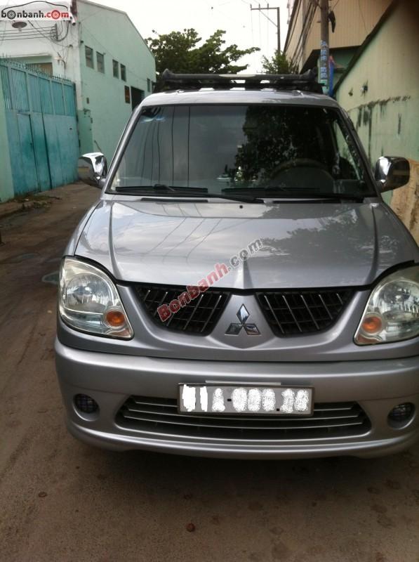 Bán Mitsubishi Jolie 2.0 đời 2004, màu bạc
