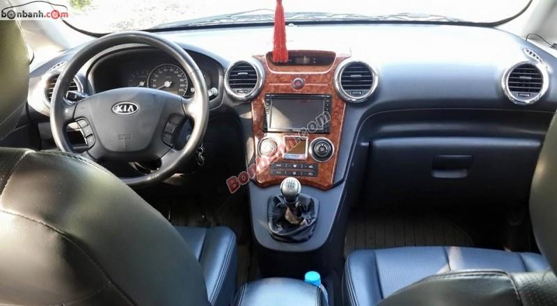 Bán ô tô Kia Carens EX 2.0 năm 2008, màu xám, nhập khẩu nguyên chiếc, xe gia đình