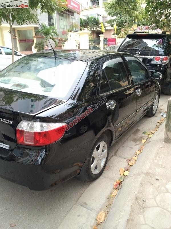Xe Toyota Vios 1.5G 2007