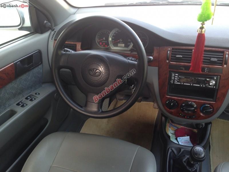 Bán xe Daewoo Lacetti EX đời 2009, màu bạc, còn mới