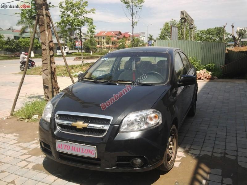 Xe Chevrolet Aveo MT 2013