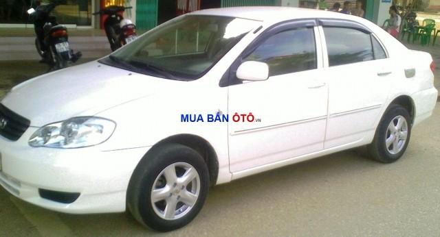 Bán Toyota Corolla Altis 2002, màu trắng, nhập khẩu chính hãng