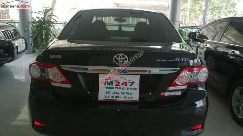 Toyota Corolla Altis 1.8 AT đời 2014, màu đen