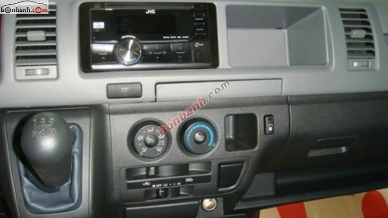Xe Toyota Hiace  2015