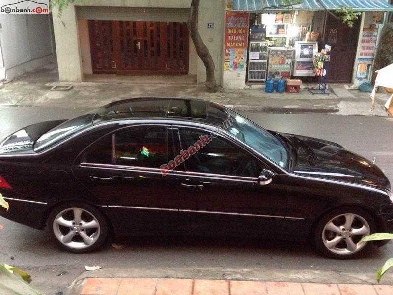 Xe Mercedes-Benz C class C230 2005