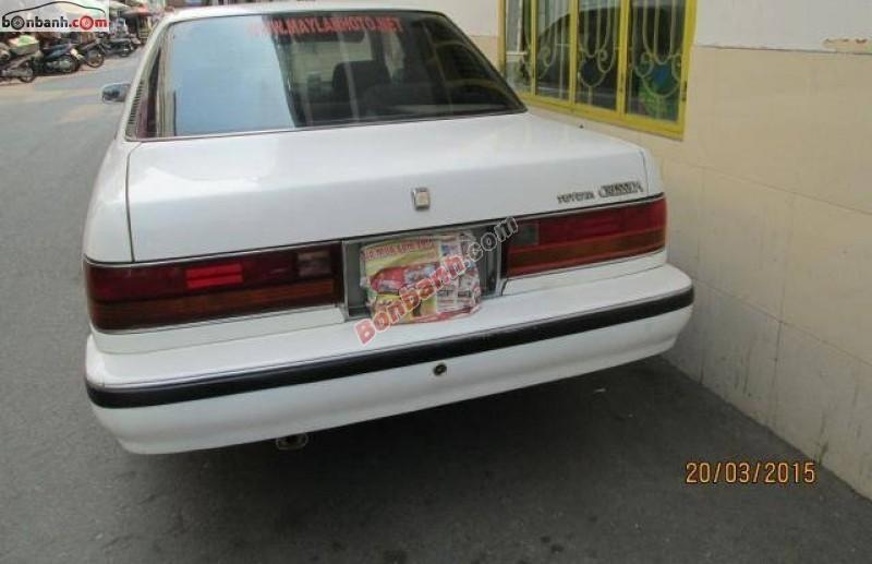 Cần bán lại xe Toyota Cressida 2.4 sản xuất 1990, màu trắng, xe nhập, số tự động