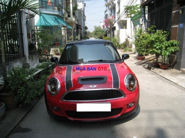 Cần bán lại xe Mini Cooper S đời 2009, màu đỏ, nhập khẩu nguyên chiếc, số tự động