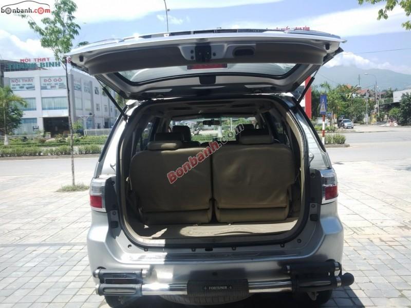 Auto Mai Long bán Toyota Fortuner G 2009, màu bạc