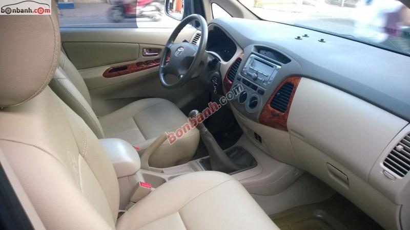 Cần bán lại xe Toyota Innova G năm 2007, xe đẹp